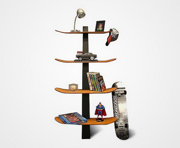 Skateboard Shelf,