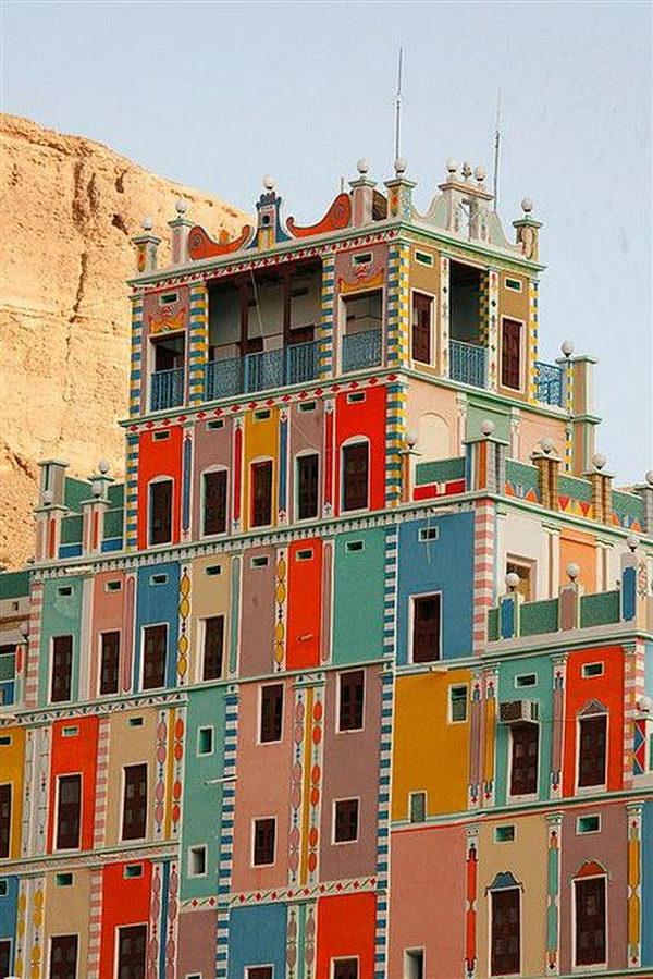 Buqshan hotel in Khalia Yemen.