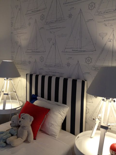 25 Nautical Bedding Ideas For Boys