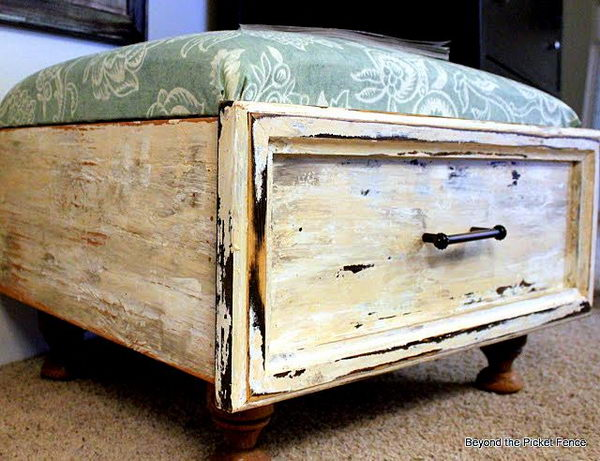 Old Drawer Ottoman.