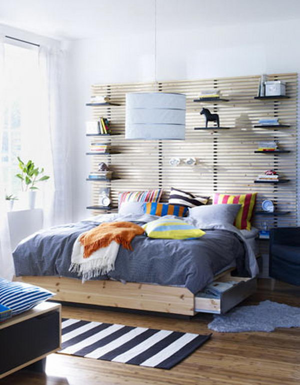 Headboard with Ikea Furntiure. Not only served to isolate sleepers from drafts and cold in less insulated buildings, but also was a important decorative element in your bedrooms.