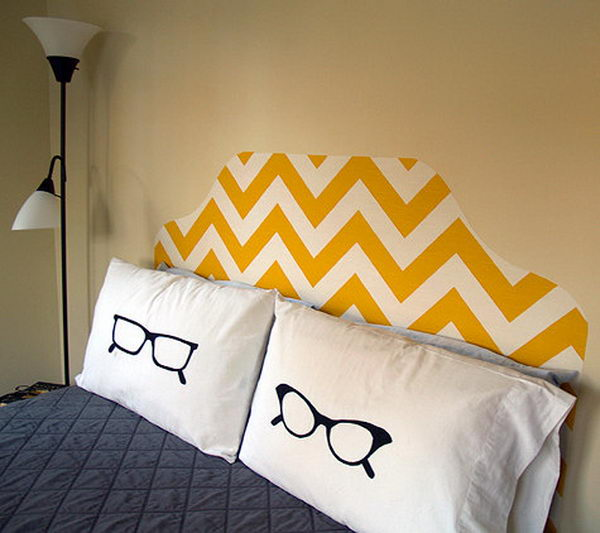 Fabic Headboard. Not only served to isolate sleepers from drafts and cold in less insulated buildings, but also was a important decorative element in your bedrooms.