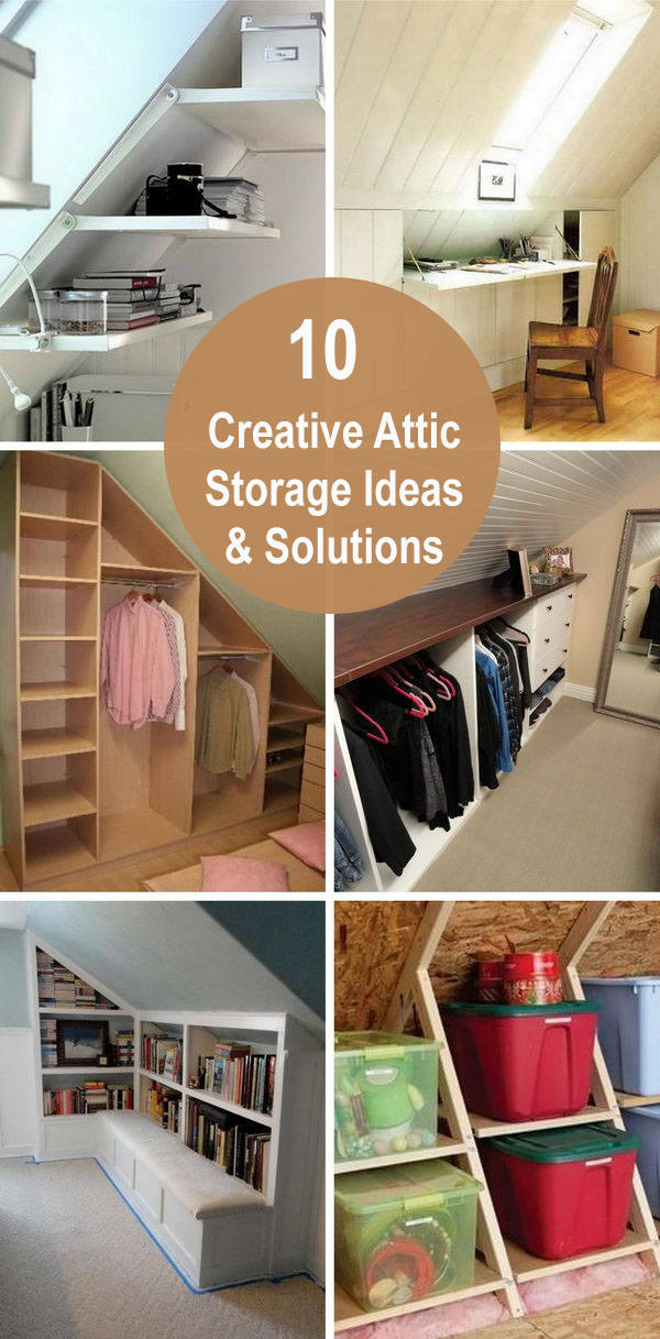10 Creative Attic Storage Ideas and Solutions.