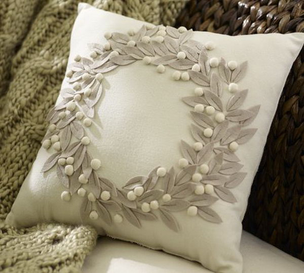 Pottery Barn Pillow Knockoff: I can hardly tell what pillow is from pottery barn and & DIY Pillow Ideas and Tutorials pillowsntoast.com