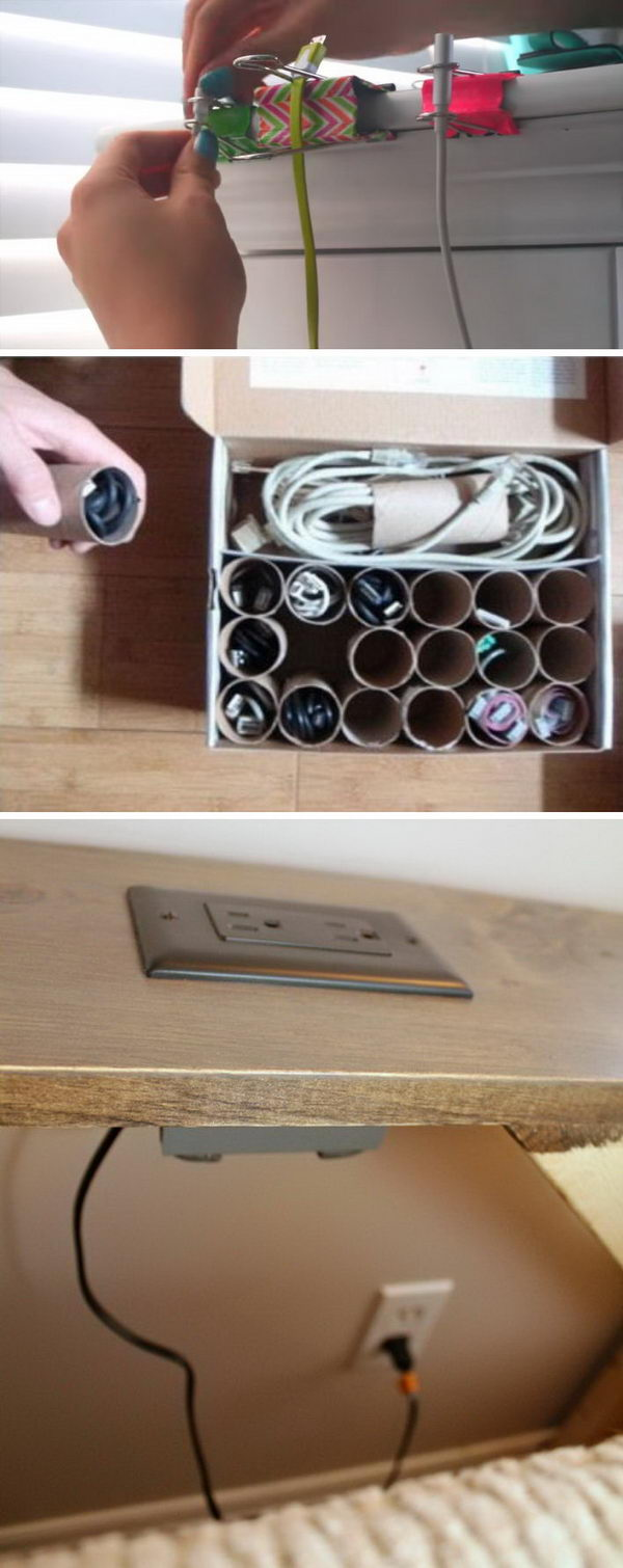 Creative Ways to Organize Your Family's Electronics.