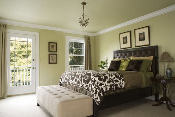 Green Master Bedroom Paint Color Ideas