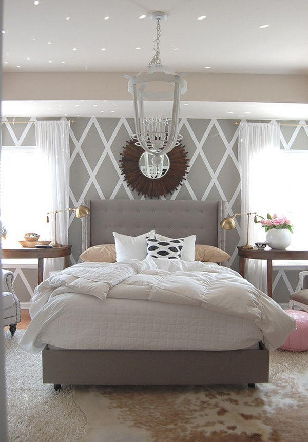 Gray Room Design Ideas: 45 Beautiful Paint Color Ideas For Master Bedroom