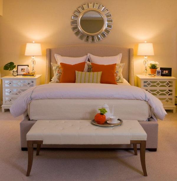 Orange Master Bedroom Paint Color Ideas