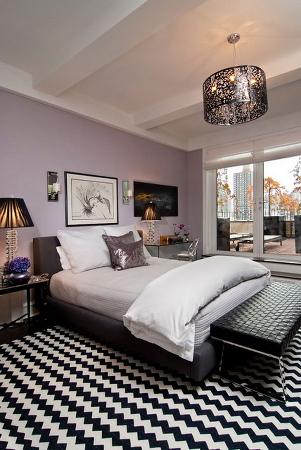 80 Inspirational Purple Bedroom Designs Amp Ideas