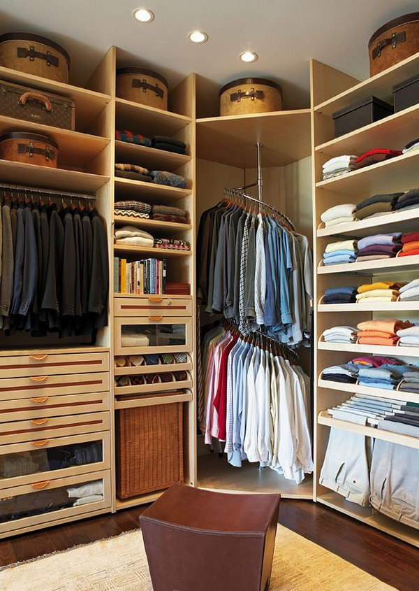 40 clever closet storage and organization ideas