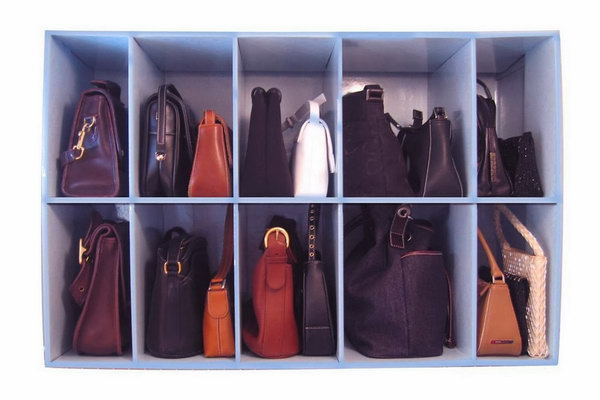 Install Shelving for Purses