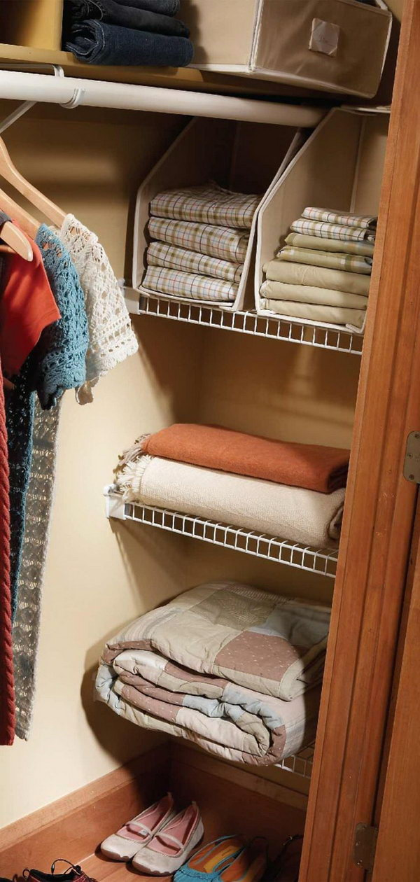 Expand Your Closet space with the Closet Nook Shelves