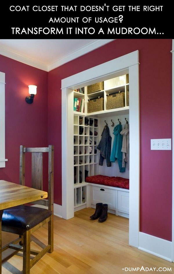 Smart Use Of The Not Usual Utilized Place In Closet
