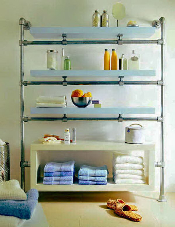 Floating Bathroom Shelf.