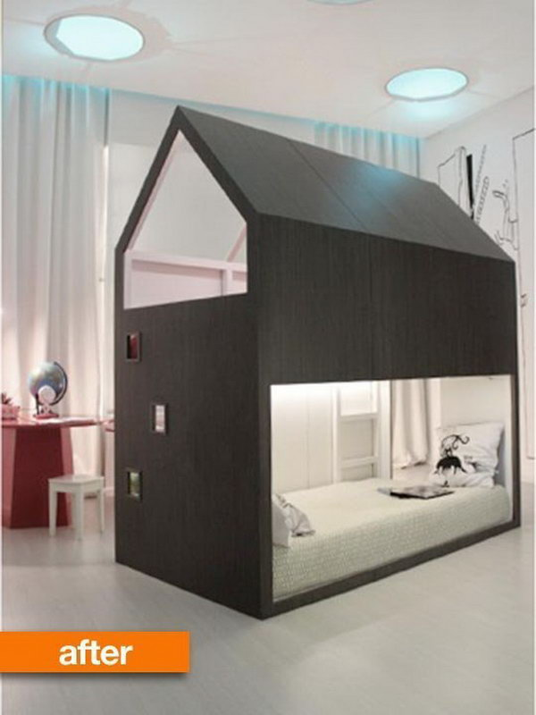 20 awesome ikea hacks for kids 39 beds. Black Bedroom Furniture Sets. Home Design Ideas