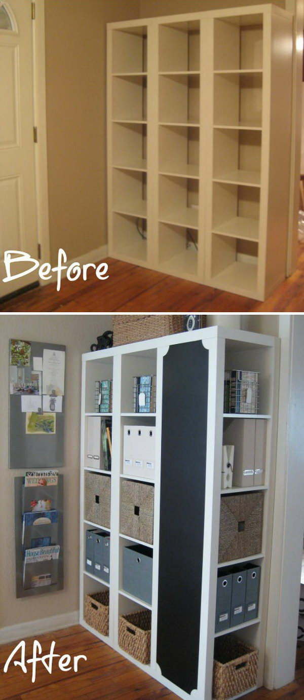 25 ikea kallax or expedit shelf hacks Transformer meuble ikea