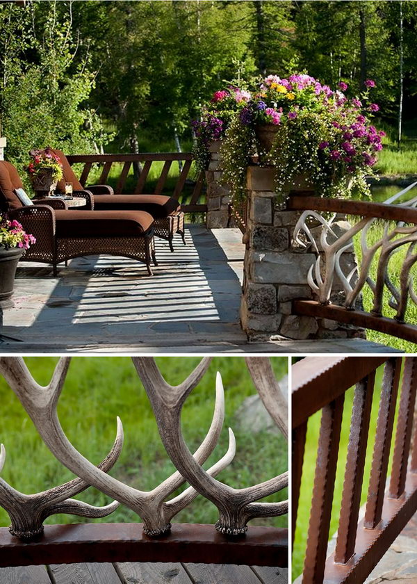 Outside Stairs Decor Ideas