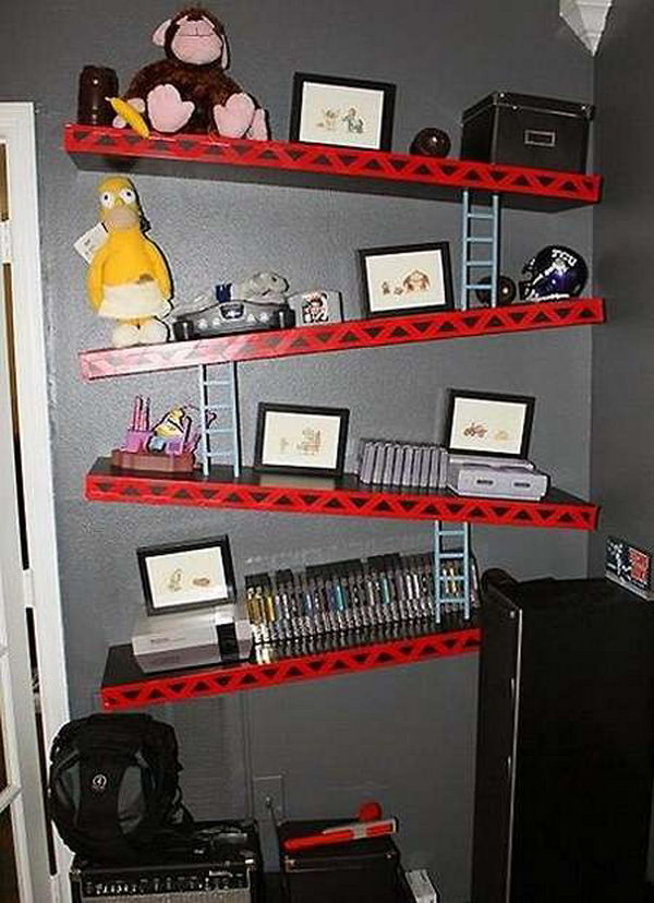 20 Cool Decorative Shelving Ideas