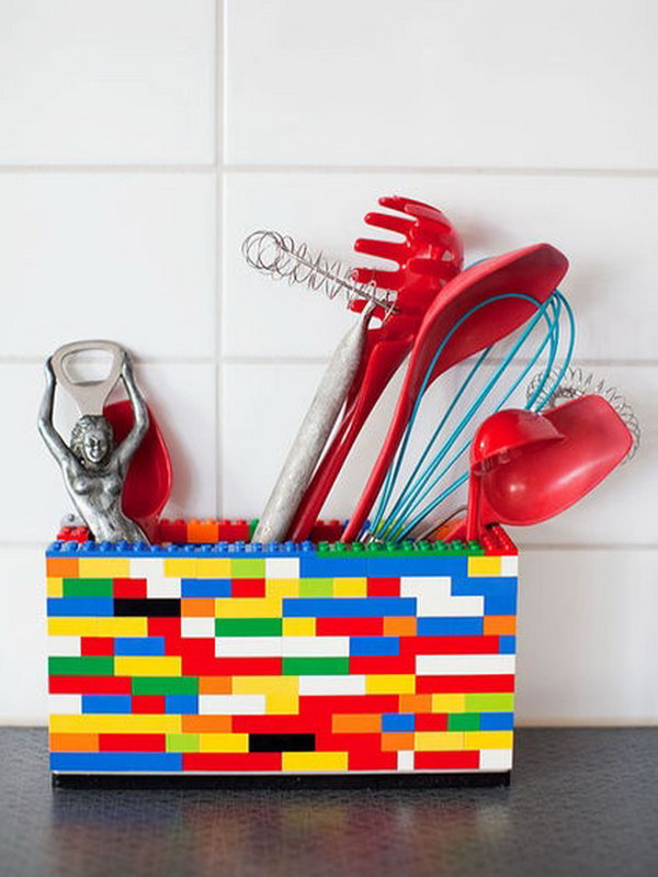 lego storage box. Smart well-organized bright and beautiful. The right & 15 Cool DIY Storage Containers