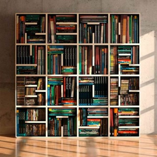 Cool Letter Shaped Shelves