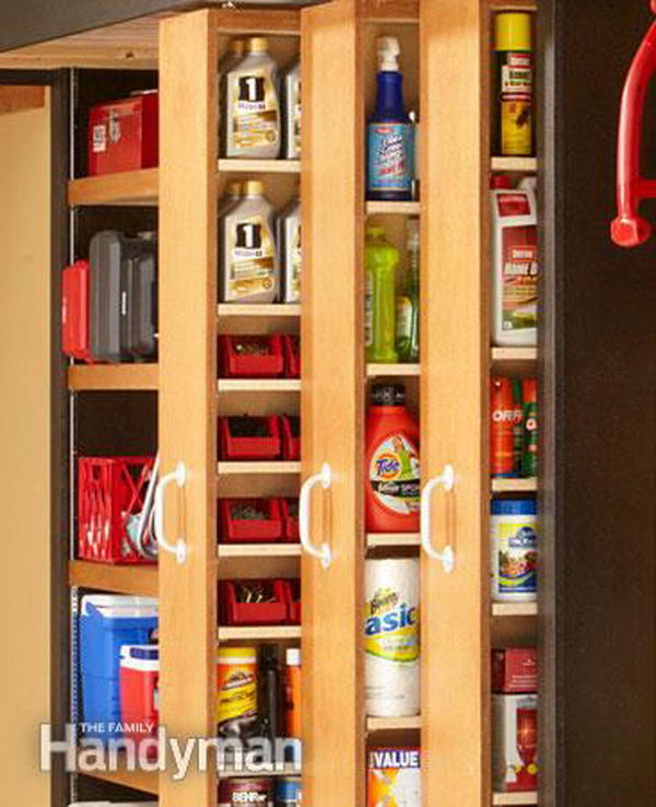 67 Cool Pull Out Kitchen Drawers And Shelves: 20 Clever Basement Storage Ideas