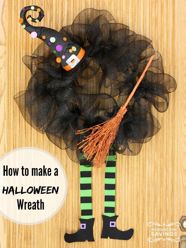 Easy Halloween Witch Fun and Creative DIY