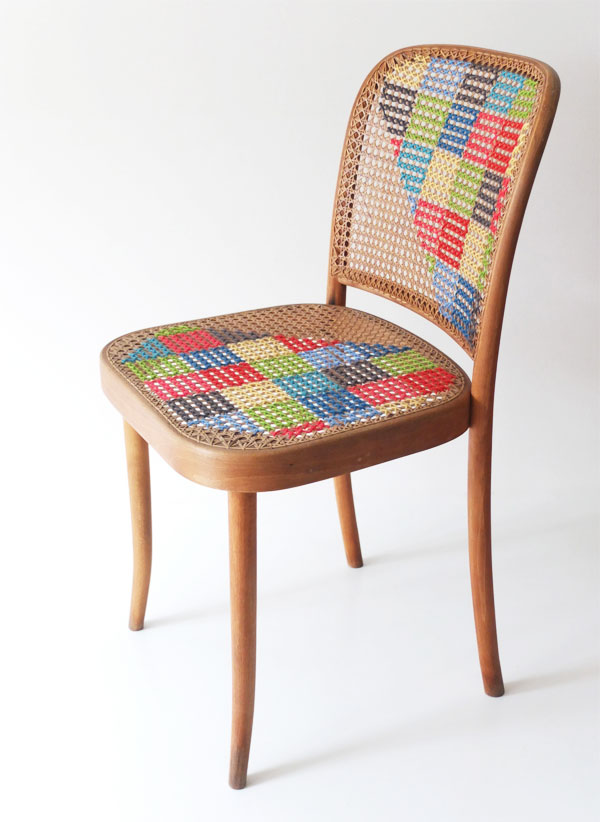 Cross Stitch Chair. Get the steps