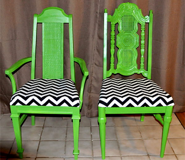 DIY Chair Revamp. See more details