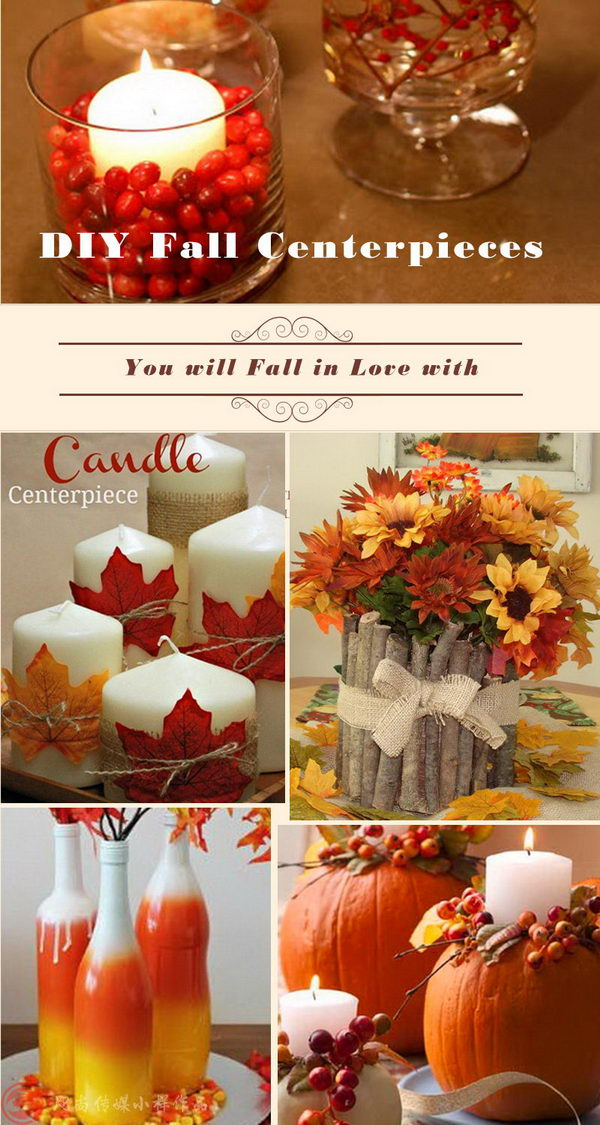 DIY Fall Centerpieces You will Fall in Love with.