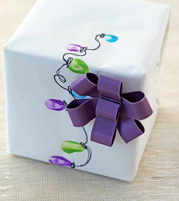 Creative Fingerprint Wrapping Idea