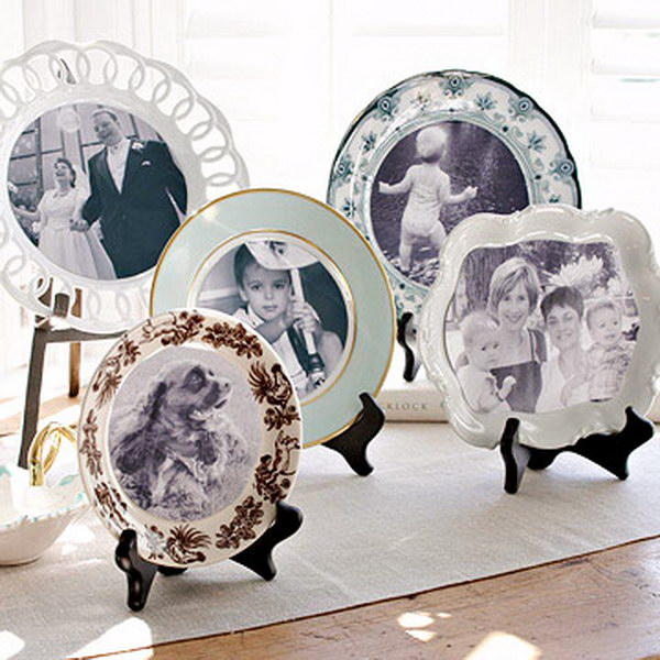 Photo Plate Display.