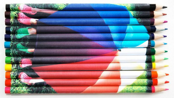DIY Photo Pencil Covers. A super easy way to refashion your brown pencils with these colorful photo covers. You can make them to keep for yourself or used as a given gift when back to school time comes.
