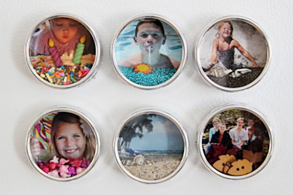 Shadowbox Photo Magnets.