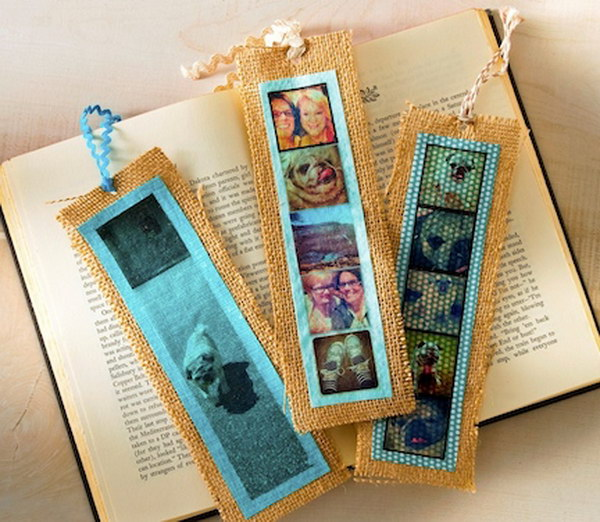Instagrams Bookmark Gifts. It is a wonderful idea to make these instagram bookmarks for your best friend as a back to school gift. See how