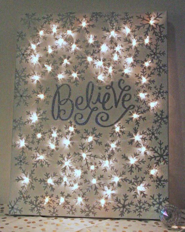 Diy Christmas Light Decoration Ideas: Holiday Decoration: DIY String Light Projects