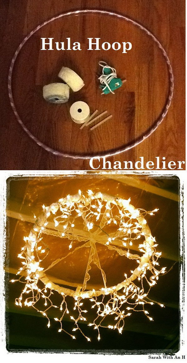 Diy Chandelier String Lights : Holiday Decoration: DIY String Light Projects