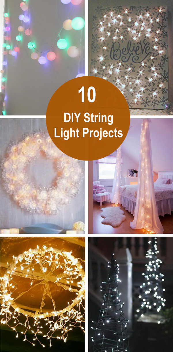 Holiday Decoration: DIY String Light Projects.