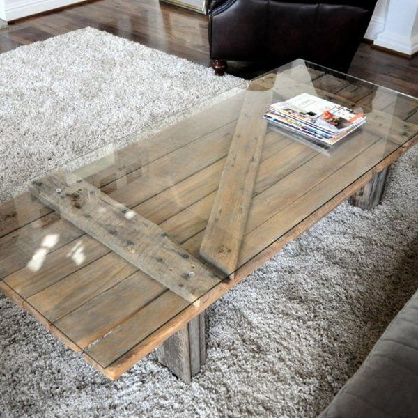 Barn Door Coffee Table.