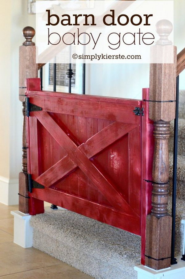 Barn Door Baby Gate.