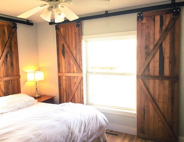 Barn Door Window Shutters.