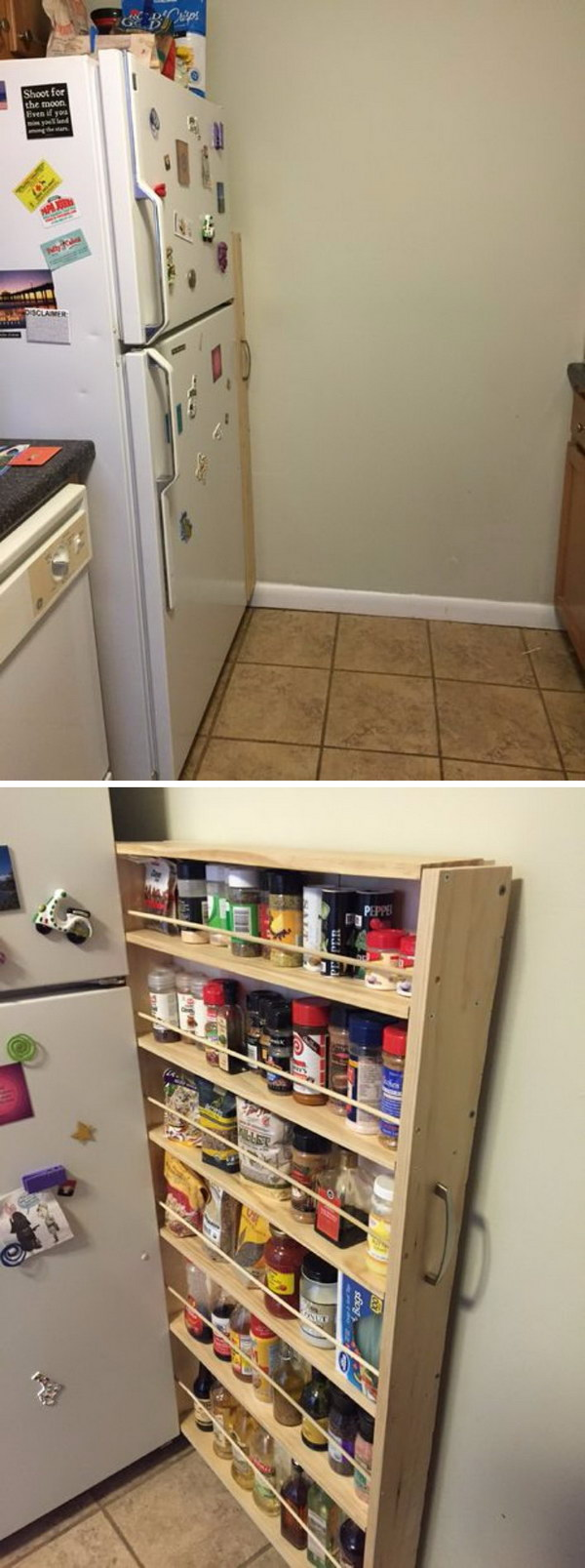 10 Creative Examples For Dividing Small Spaces: 25 Creative Hidden Storage Ideas For Small Spaces