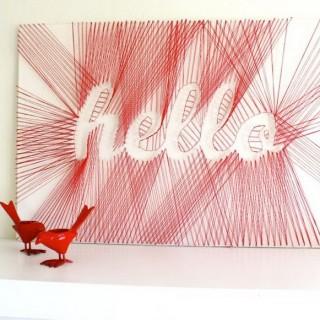 25+ DIY String Art Ideas & Tutorials for Your Home Decor