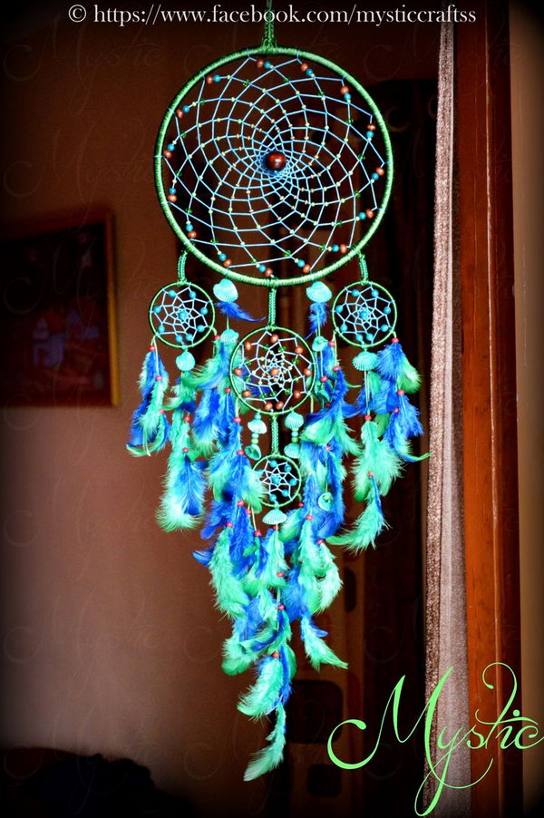 Beautiful dream catcher ideas and tutorials for Ideas for making dream catchers