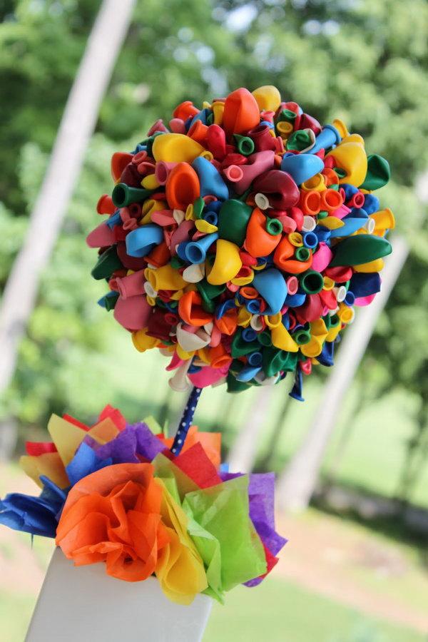 Balloon Topiary.