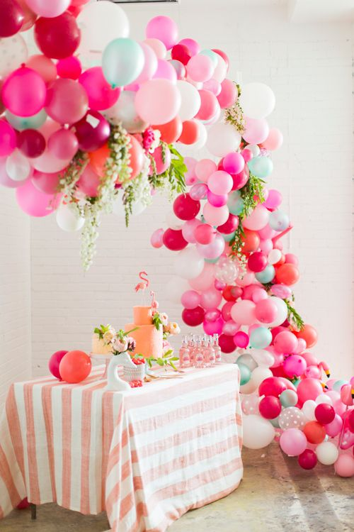 Gorgeous Balloon Arch. Tutorial.