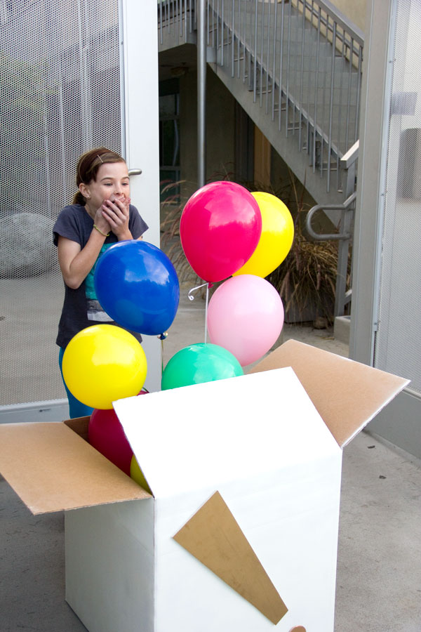 DIY Balloon Surprise.