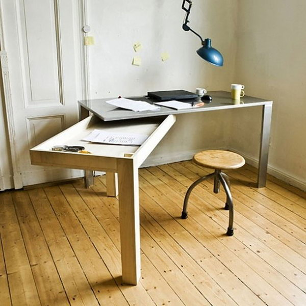 Compact Desk Table