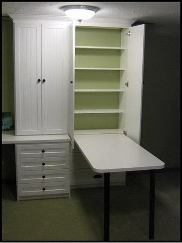 Wardrob Door Compact Table