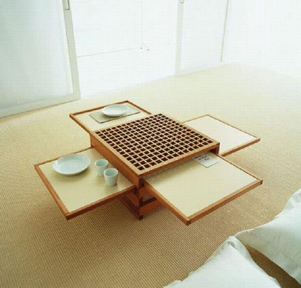 Japanese Compact Coffee Table
