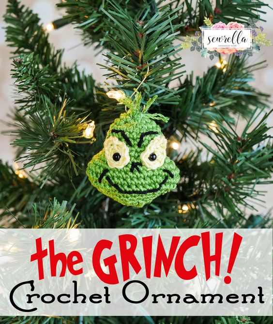The Grinch Inspired Ornament.